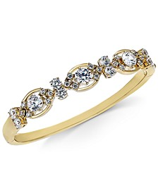 Cubic Zirconia Bangle Bracelet, Created For Macy's