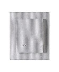 Lacoste Pinstripes King Sheet Set