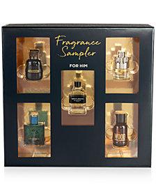 Created for Macy's 5-Pc. Fragrance Sampler Set For Him