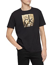 Men's Quilted Institutional Logo T-Shirt