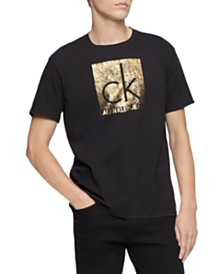 Calvin Klein Jeans Men's Quilted Institutional Logo T-Shirt
