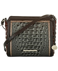 Brahmin Carrie Heartwood Leather Crossbody
