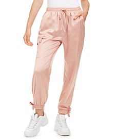 Juniors' Cargo Jogger Pants, Created for Macy's