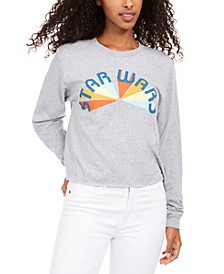 Disney Juniors' Cotton Long-Sleeve Star Wars Graphic T-Shirt