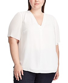 Plus Size Georgette Top