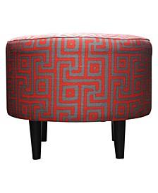 Sophia Upholstered Round Ottoman