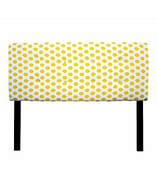 Jojo Adjustable Upholstered Headboard, Twin Size