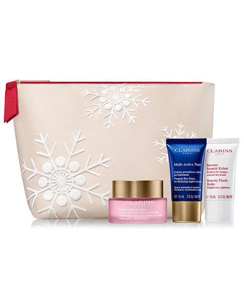 Clarins 4-Pc. Multi-Active Gift Set