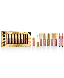 8-Pc. Strike Gold Plumping Lip Gloss Set