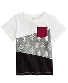Baby Boys Colorblocked Cotton T-Shirt, Created For Macy's
