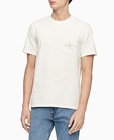 Men's Garment-Dyed Monogrammed T-Shirt