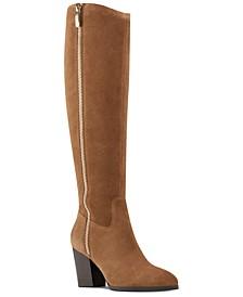 Natty Block-Heel Boots