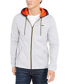 Men's Full-Zip Fleece Sweatshirt Hoodie