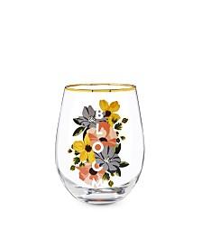 Twine Bloom Stemless Wine Glass