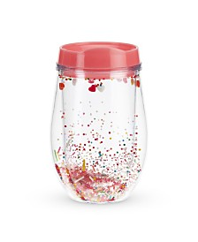 Blush Sprinkles Stemless Wine Tumbler