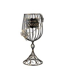 True Wine Glass Cork Display