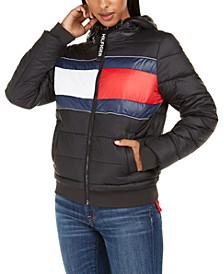 Quilted Colorblocked Jacket