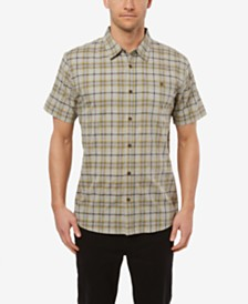 O'Neill Men's Static Plaid Short Sleeve Shirt