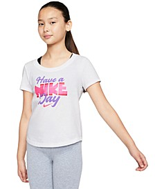 Big Girls Graphic-Print Cotton T-Shirt