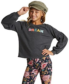 Billabong Big Girls Dream Balloon-Sleeve Sweatshirt