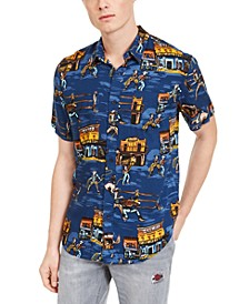 Men's Old West Print Shirt, Created For Macy's