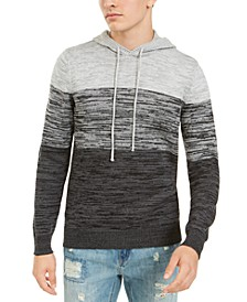 Men's Heathered Colorblocked Hoodie, Created For Macy's