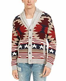 Men's Southwestern Cardigan, Created For Macy's