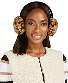 INC Faux-Fur Velvet-Band Earmuff, Created For Macy's