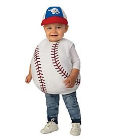 BuySeasons Lil' Baseball Infant-Toddler Costume