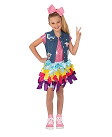 BuySeasons Girl's Jojo Siwa Bow Dress Child Costume