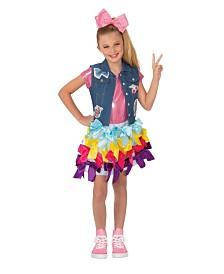 BuySeasons Little and Big Girl's Jojo Siwa Bow Dress Child Costume