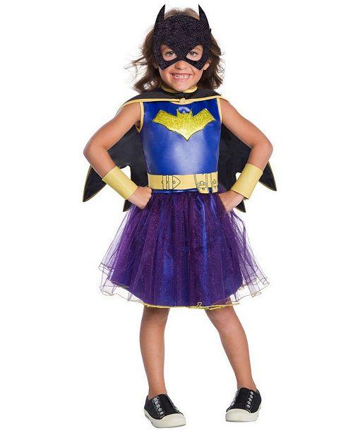 BuySeasons Little and Big Girl's Batgirl Deluxe Child Costume