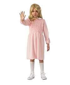 Little and Big Girl's Stranger Things Kids Eleven's Dress Child Costume