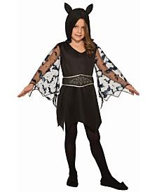 BuySeasons Little and Big Girl's Cute Bat Child Costume