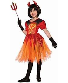 BuySeasons Girl's Devil Little Flame Child Costume