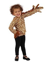 BuySeasons Girl's Puppet Pals Giraffe Jacket