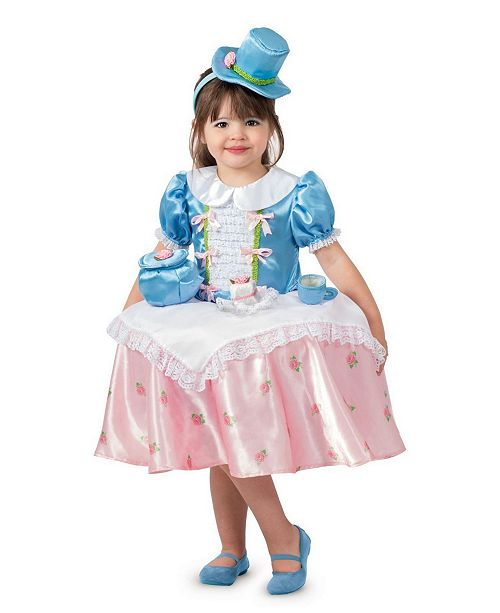 BuySeasons Big Girl's Tea Party Table Top Child Costume