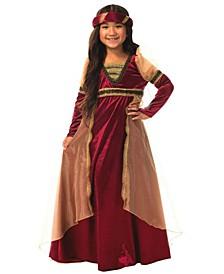 Renaissance Big Girl's Costume