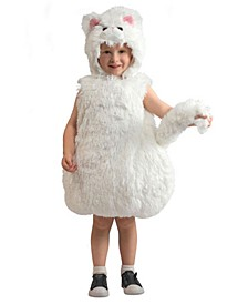 Baby Boy's and Girl's Snowball Kitty Costume