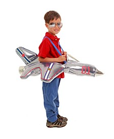 Baby Boys and Girls Plush Ride - In Airplane Costume