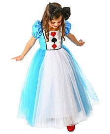 BuySeasons Little and Big Girl's Princess Alexandra Child Costume