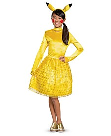 Little and Big Girl's Pikachu Classic Child Costume