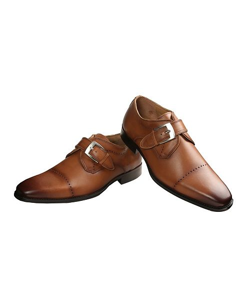 Ishaan Talreja New York Men's Single Monk Strap Shoe