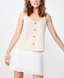 Cotton On Allie Button Front Cami