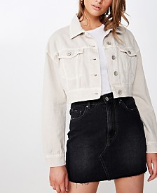 Cotton On Angie Chopped Denim Jacket