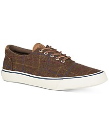 Sperry Men's Striper II CVO Wool Plaid Sneakers