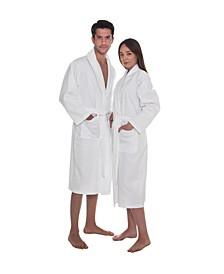 Deluxe Pique Unisex Bath Robe