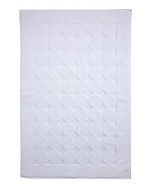 Ozan Premium Home Orbit Luxury Circle Design Bath Mat