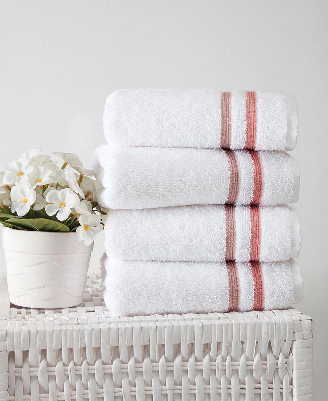 OZAN PREMIUM HOME Bedazzle Hand Towel 4-Pc. Set