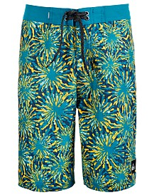 Quiksilver Big Boys Fireworks Swim Trunks